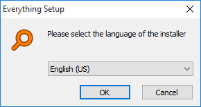 Everything Installer Language